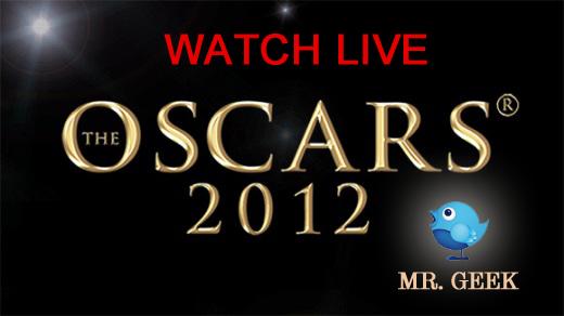 Watch Oscars 2012 Live