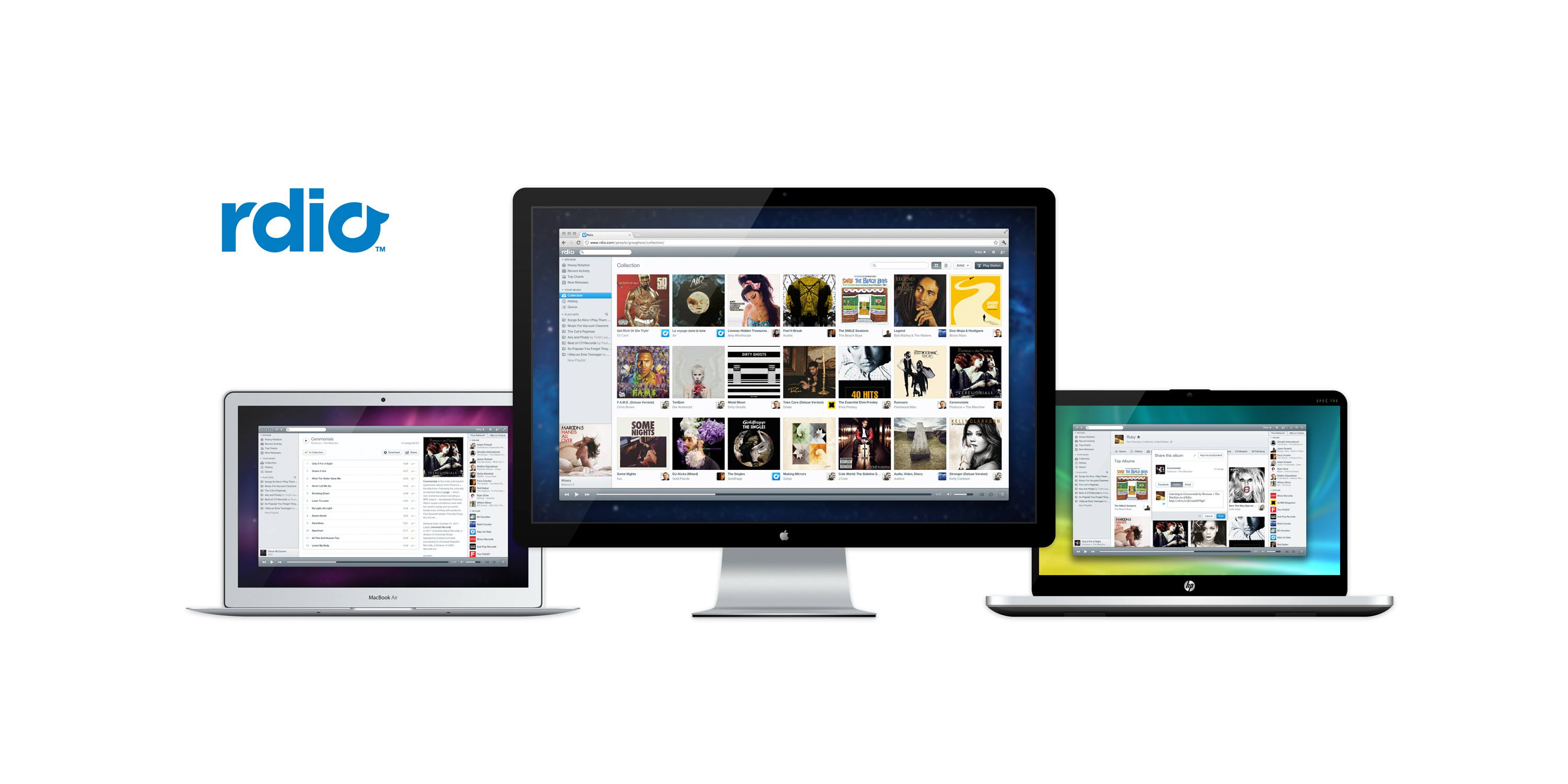 Rdio: Unlimited Music Everywhere (an alternative to Spotify)