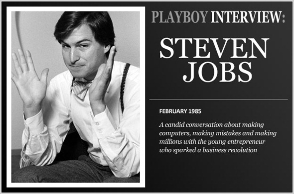 Playboy Interview: Steven Jobs (1985)