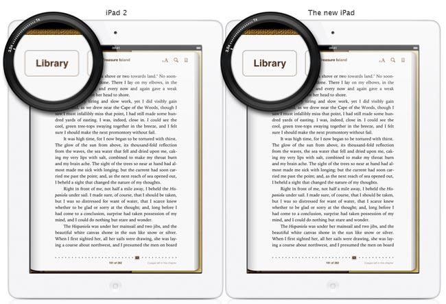 iPad 2 vs 'the new iPad', Resolutionary?