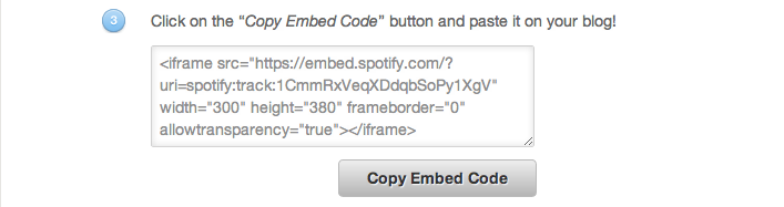 generate embed code