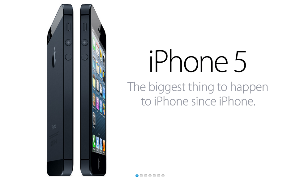 My word on the iPhone 5