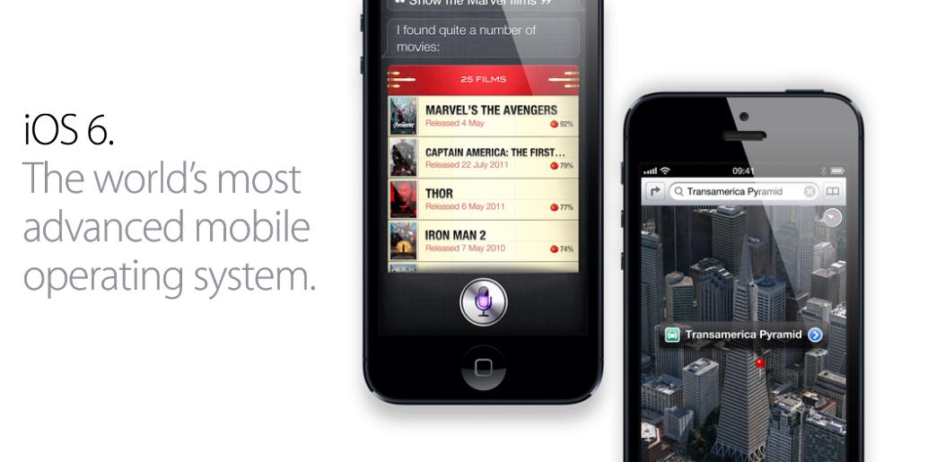 iPhone 5 iOS 6