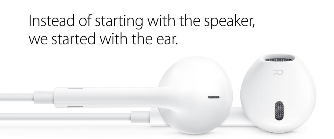 iPhone 5 EarPods