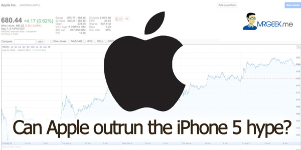 Can Apple outrun the iPhone 5 hype?