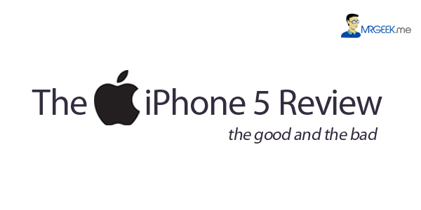 The Apple iPhone 5 review