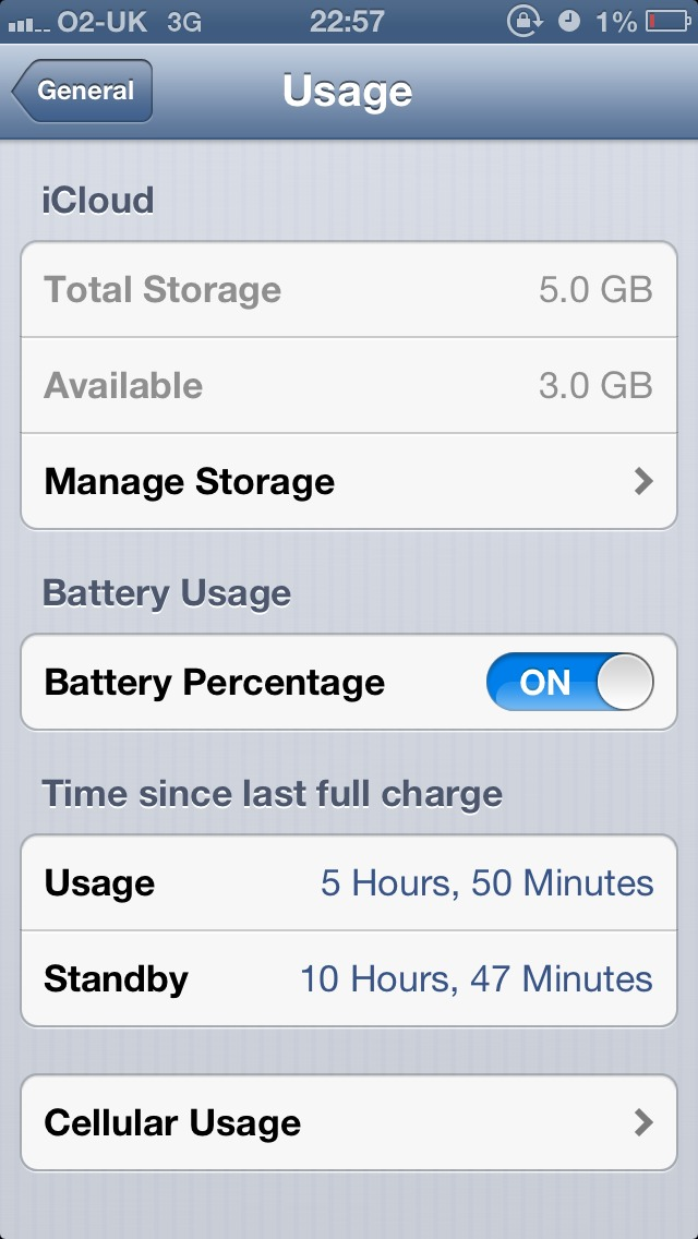 iPhone 5 battery issues