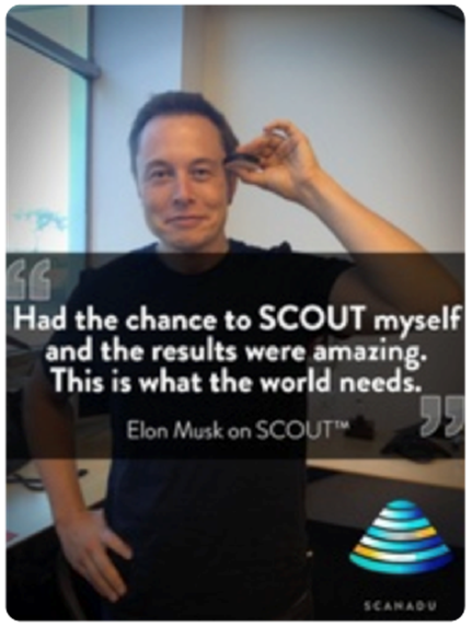 Elon Musk using Scanadu
