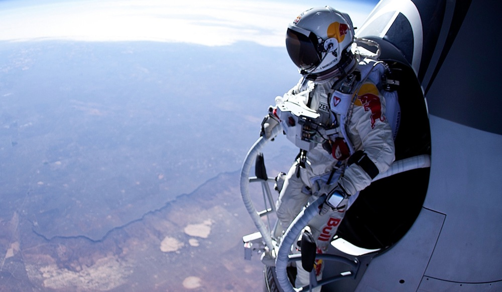 The jump from Space