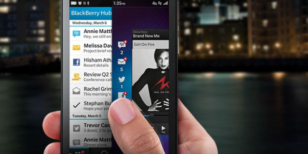 The Blackberry Z10 Follows The Crowd