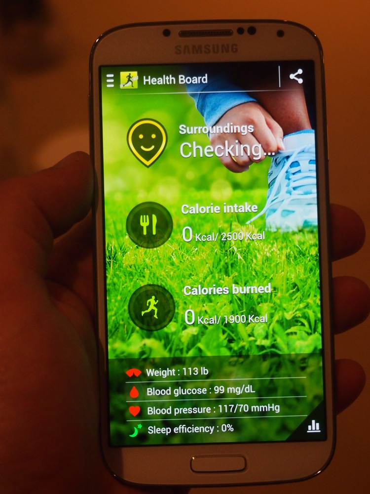 441 PPI Samsung Galaxy S4