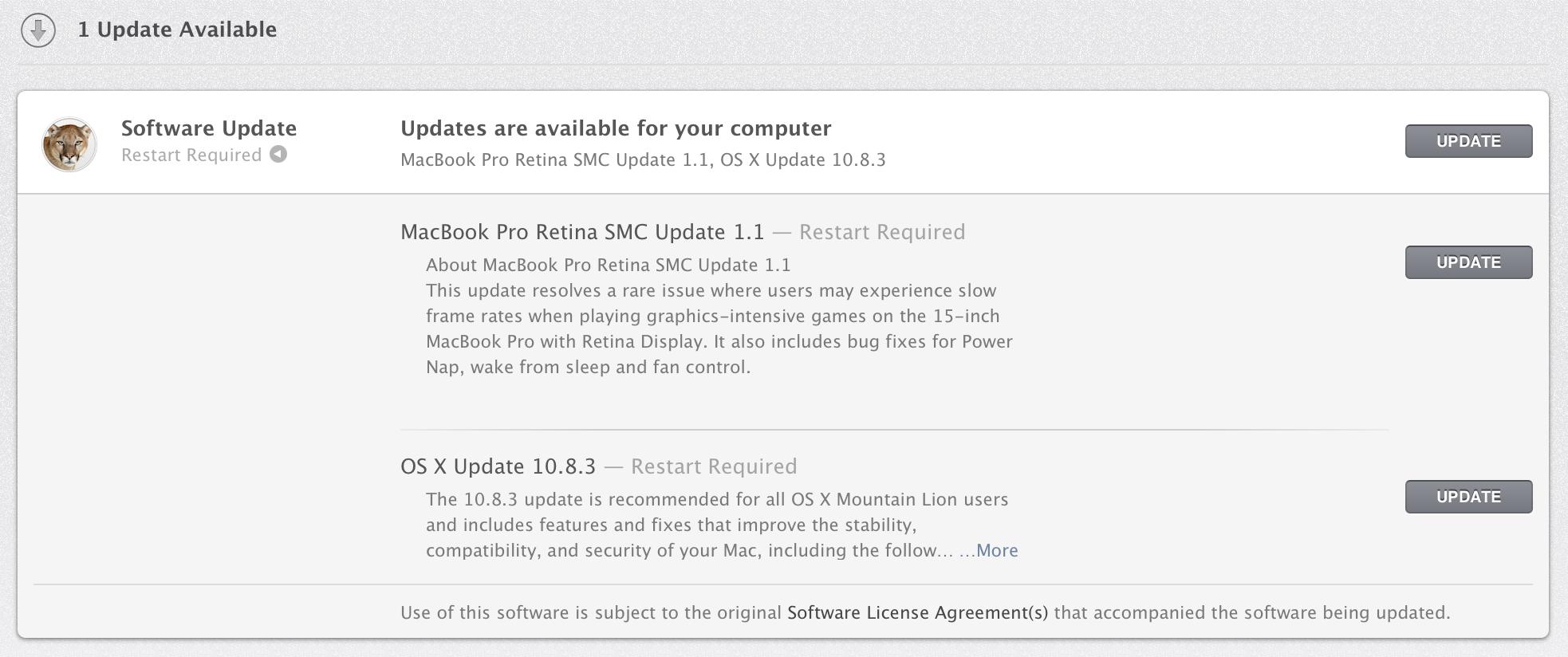MacBook Pro Retina Update Released – Fixes Key Issues (SMC, OSX)