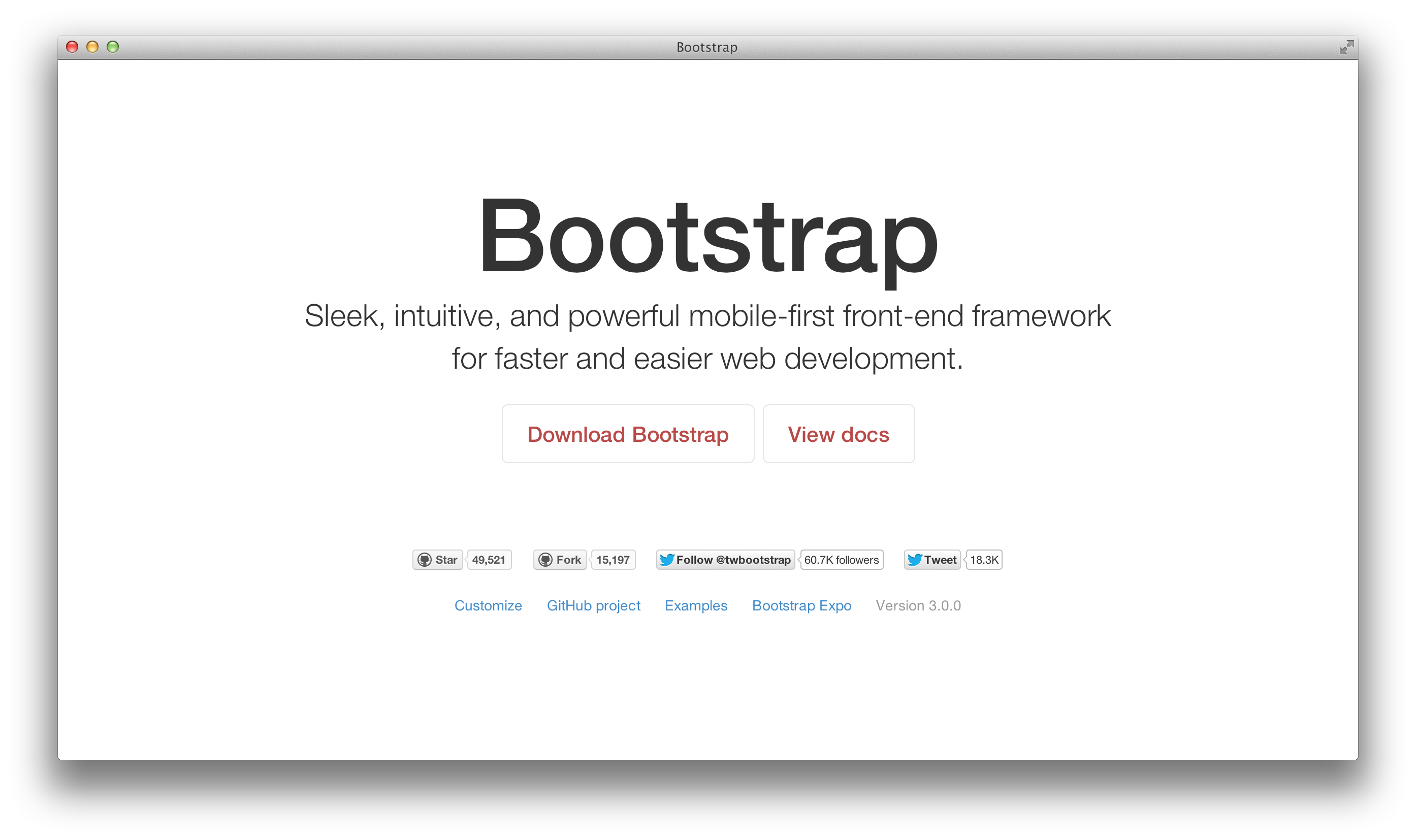 Bootstrap 3 Image 1