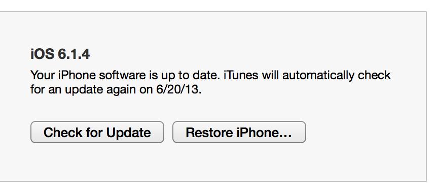 Install iOS 7 1