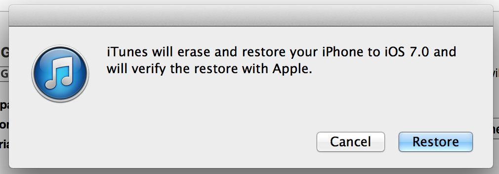 Install iOS 7 3