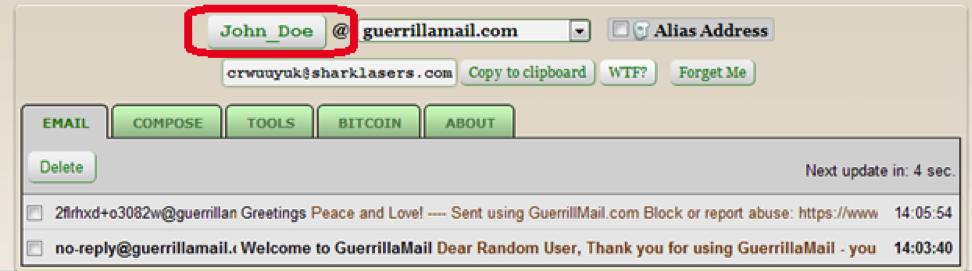 Guerilla Mail 3