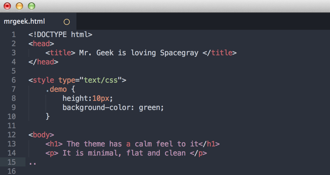 Spacegray: A Cool Theme For Sublime Text 2