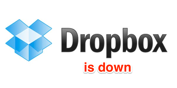 Real proof why Dropbox has been hacked, service completely inaccessible
