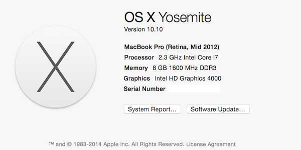 What's new in Yosemite OS X 10.10 Beta 2 ?