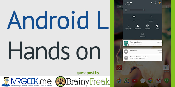 Android L Hands On